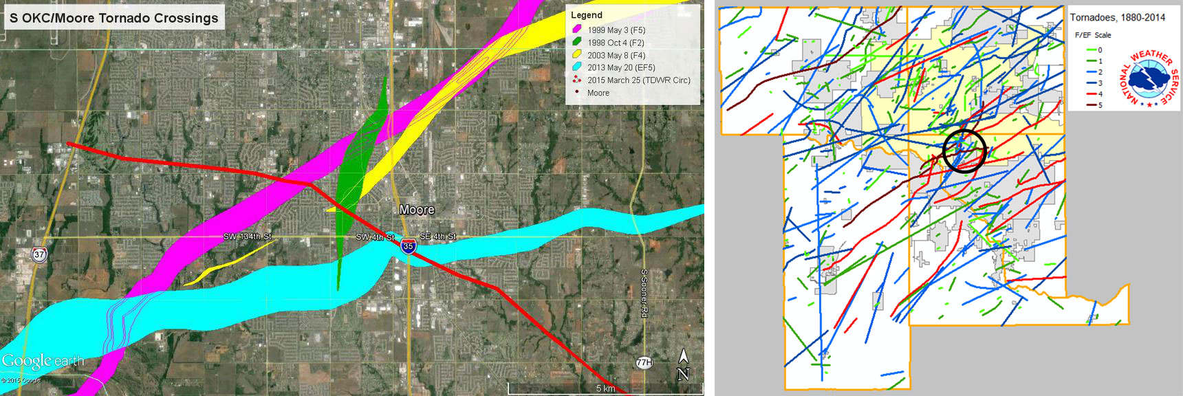 The Science Behind Oklahomas Recent Tornadoes  KXAN