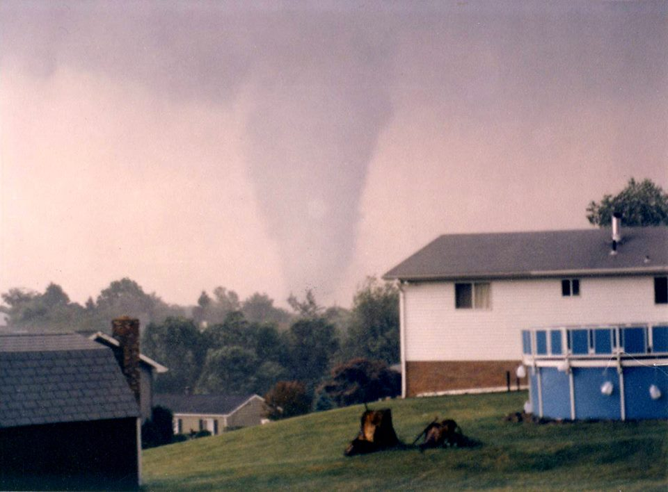 The Beaver County F3 tornado. Source: Beaver County Times.
