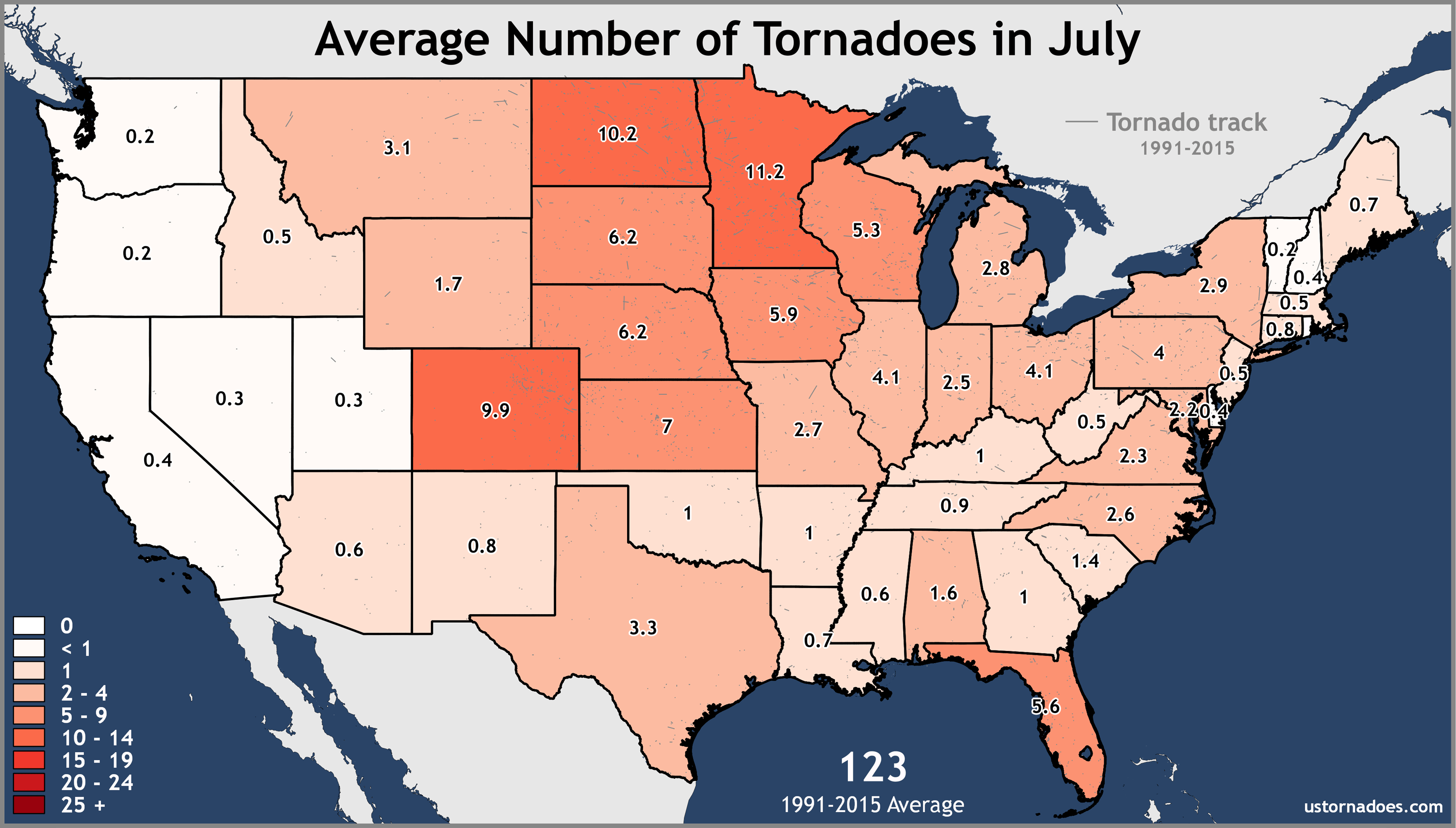 July-United-States-Tornadoes-Average