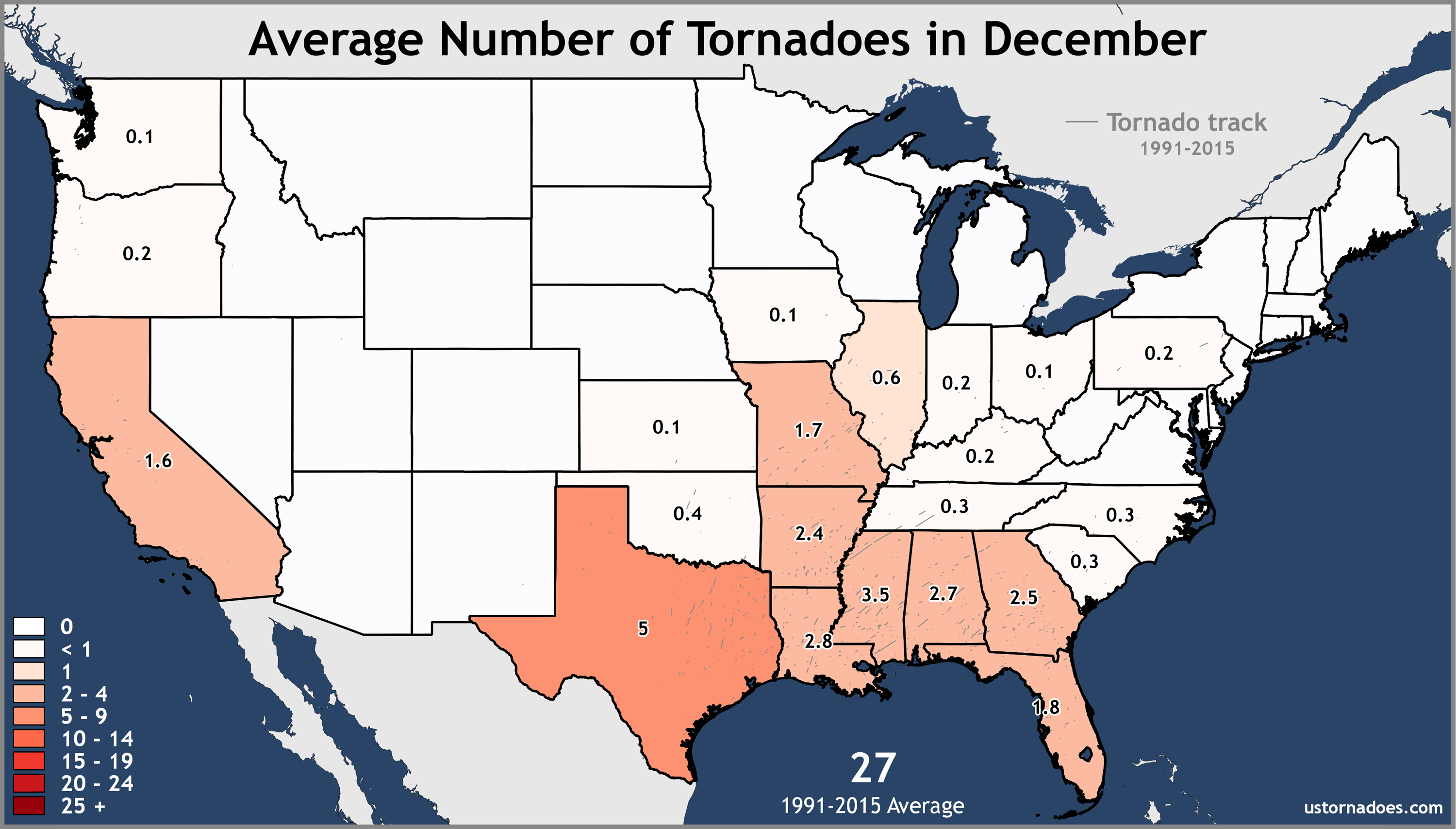 December-United-States-Tornadoes-Average