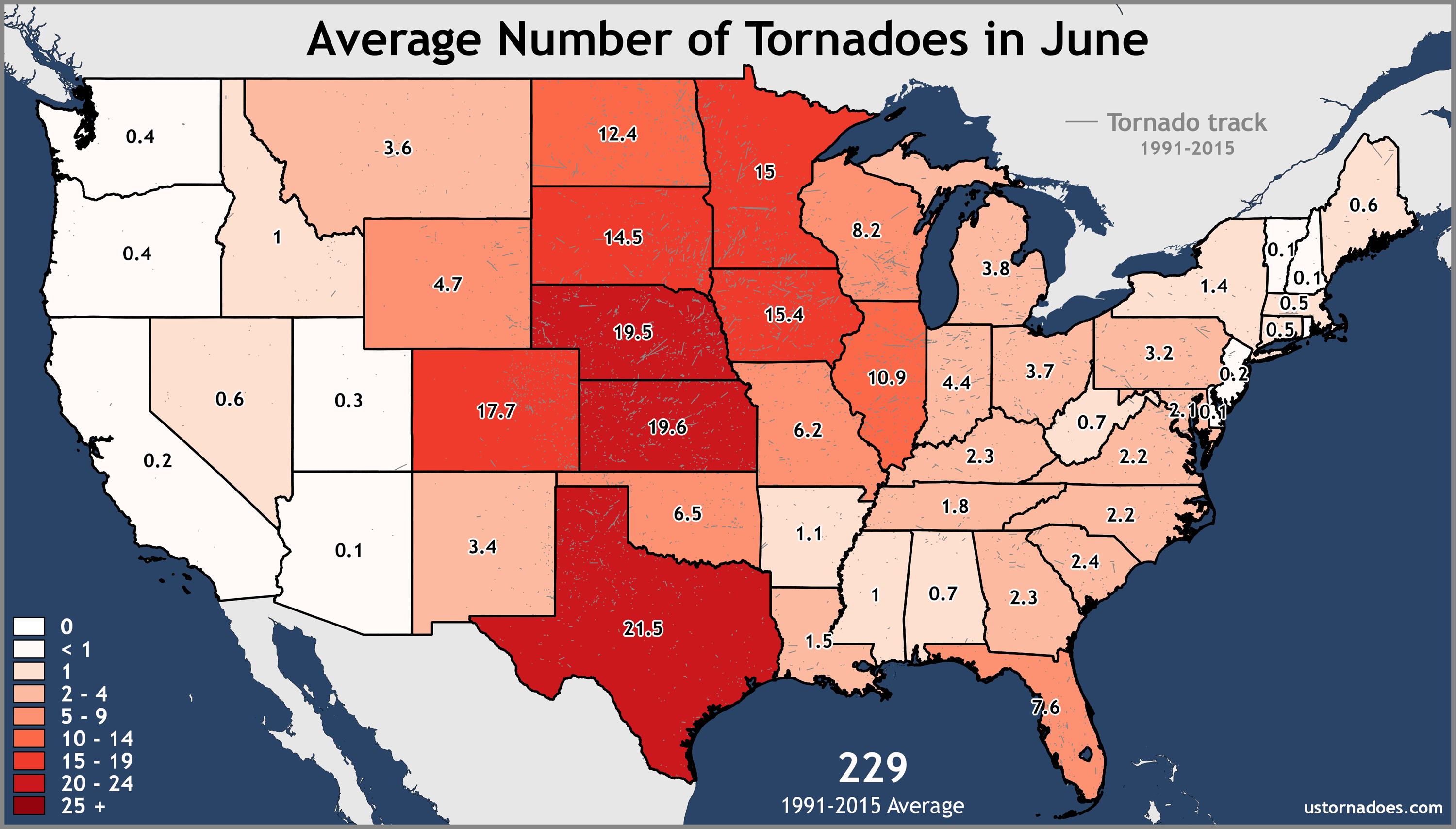 June-United-States-Tornadoes-Average