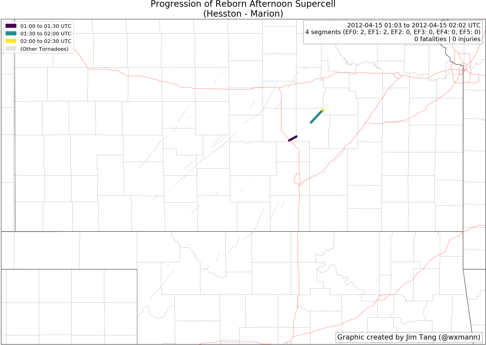 A Comprehensive Radar Examination Of The April 14 2012 Tornado